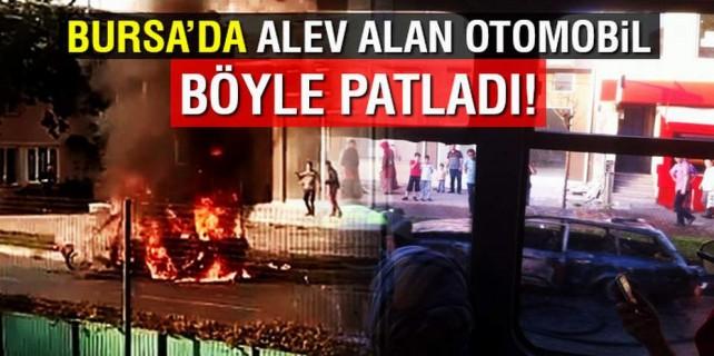 Bursa'da dehşet dakikaları...
