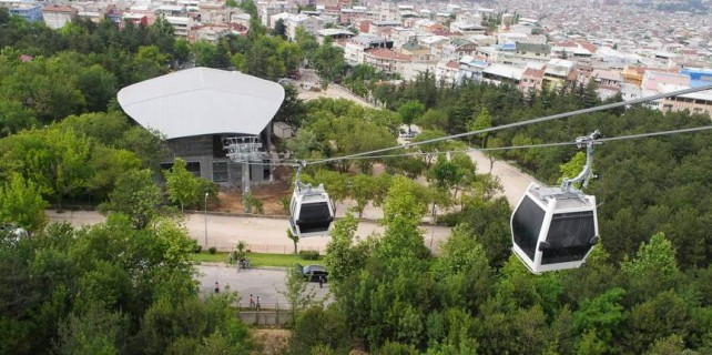Bursa'da teleferik bedava