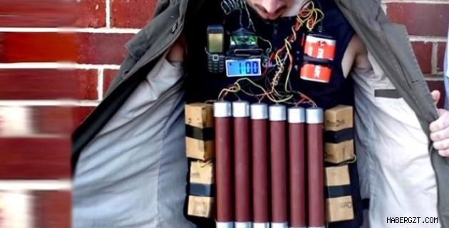 Canlı bomba şüphelisi yakalandı