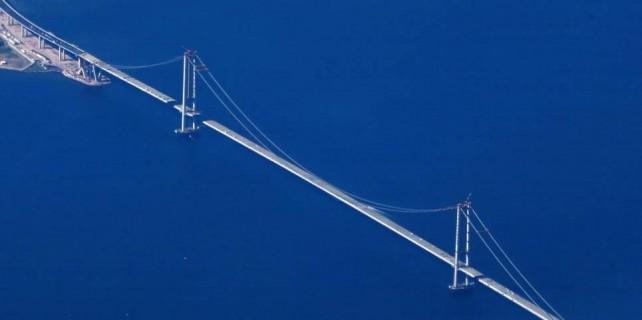 Dünyanın 4.büyük köprüsü için Bursa'ya büyük jest