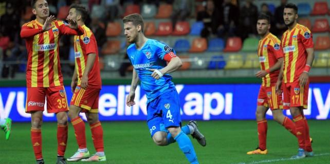Kayserispor: 2 - Bursaspor: 1 (canlı anlatım)