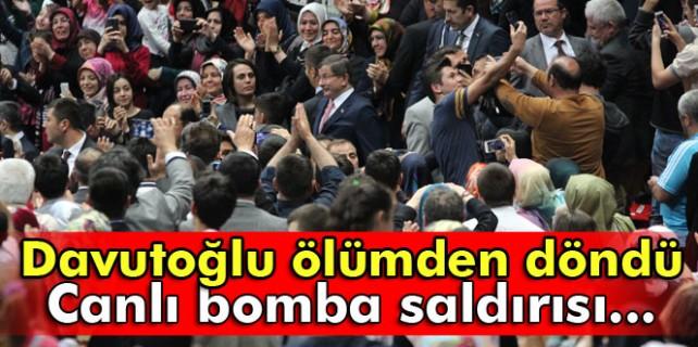 Ahmet Davutoğlu ölümden döndü