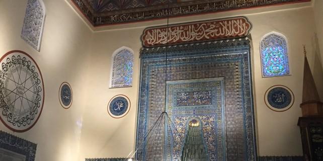 İşte Yeşil Camii'nin yeni hali...