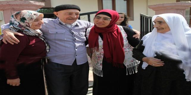 Ahıska Türkleri'nin 71 yıl sonra gelen mutluluğu