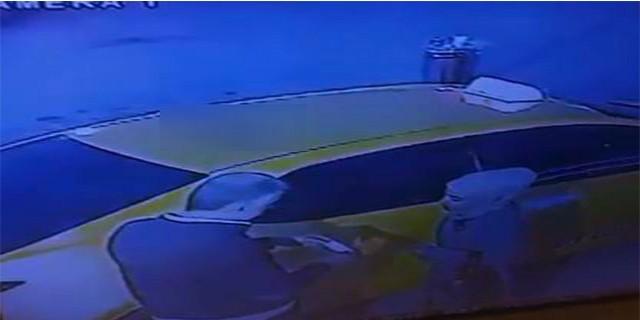 Canlı bomba terminalde görüntülendi