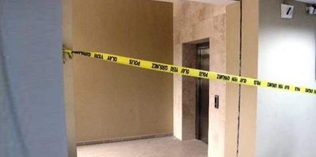 Asansör 12. kattan yere çakıldı