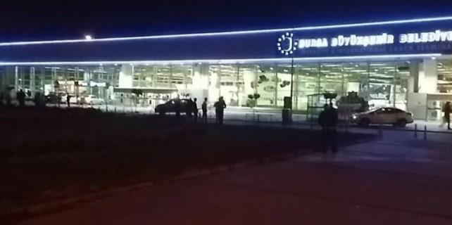 Bursa terminalinde bomba alarmı