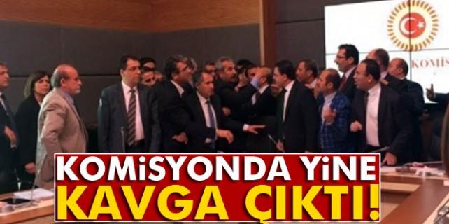 Mecliste yine kavga çıktı