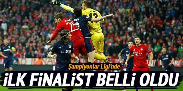 Şampiyonlar Ligi'nde ilk finalist