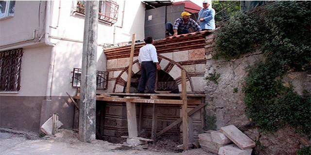 Büyükşehir'den tarihi çeşme açıklaması