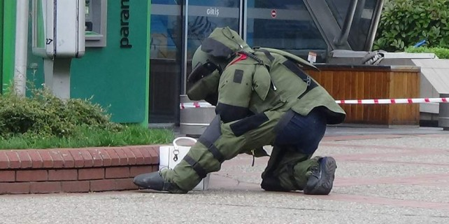 Bursa'da bomba paniği...