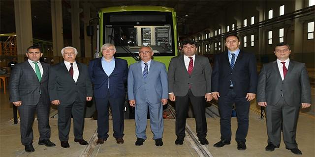 Bursa ürettiği modern tramvayları teslim ediyor