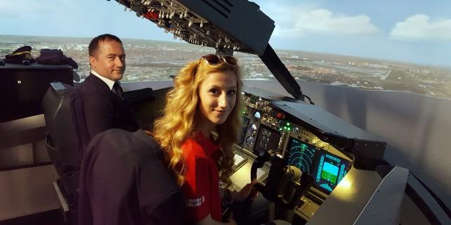Pilot olmak isteyenler oraya koştu