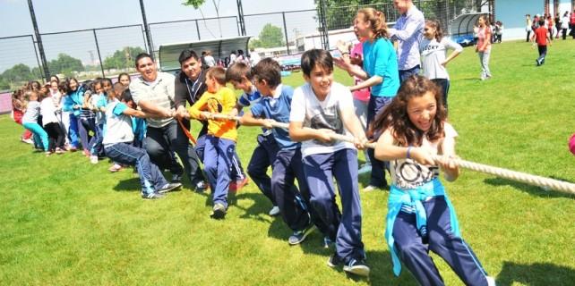 Geleneksel oyunlar Nilüfer'de yaşatılıyor