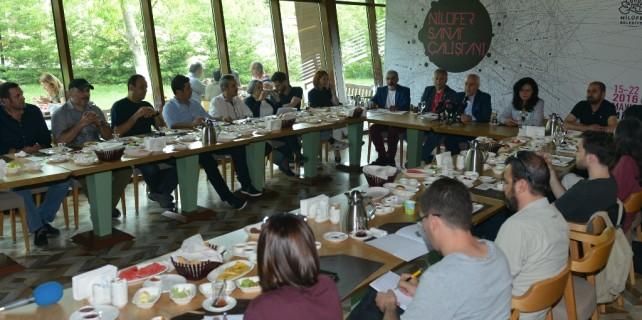 Nilüfer 'Sanat Çalıştayı'na ev sahipliği yapıyor