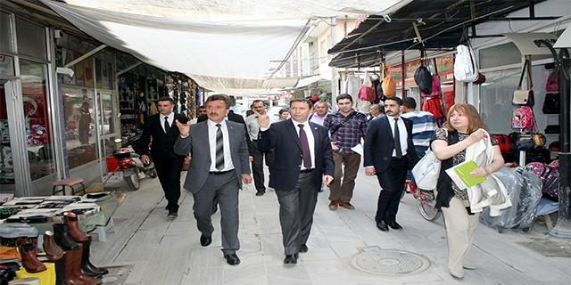Yenişehir'in cephesi değişiyor