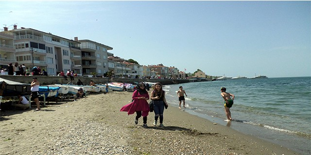 Mudanya'da deniz sezonu açıldı