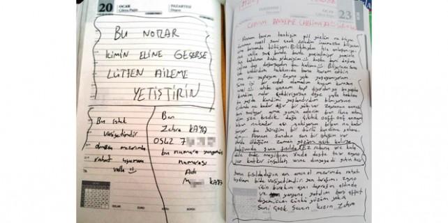 Terörist kızın pişmanlık mektubu...