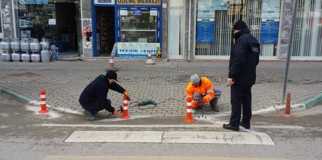 Bursa'da buraya park eden yandı...