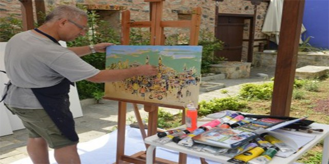Sanat Çalıştayı ustalarla genç kabiliyetleri buluşturdu