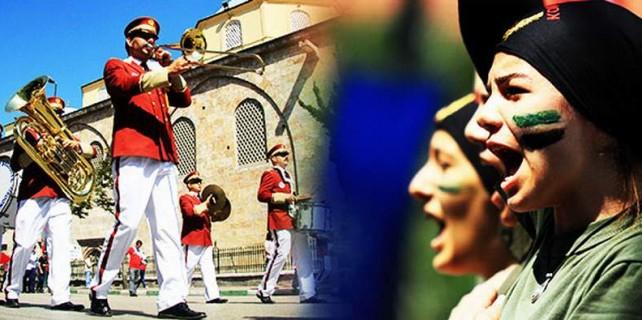 Bursa'da 19 Mayıs coşkusu...