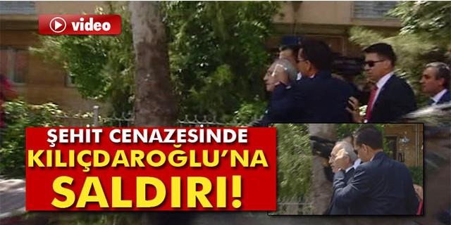 Şehit cenazesinde Kılıçdaroğlu'na şok