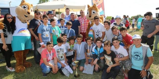 Nilüfer 15. Uluslararası Spor Şenlikleri'ne renkli kapanış