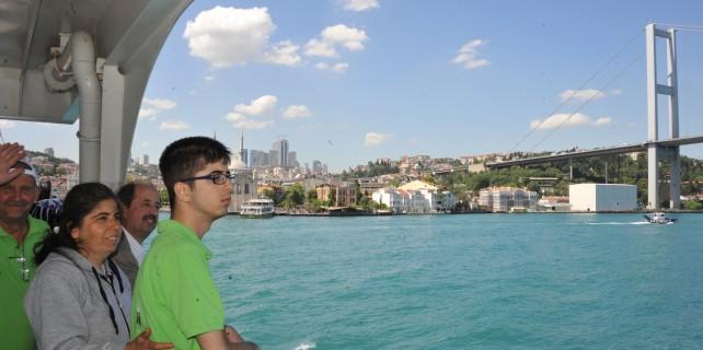 Engelliler İstanbul'u gezdi