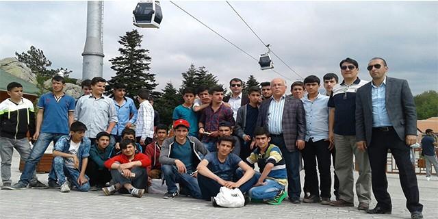 Hakkarili çocuklar Bursa'ya doydu