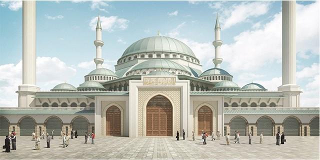 Uludağ Üniversitesi Camii'nde sona gelindi
