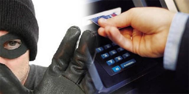 ATM'ye düzenek kurarken yakalandılar