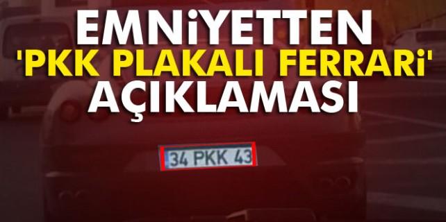 PKK plakalı Ferrari haberi gerçek mi?