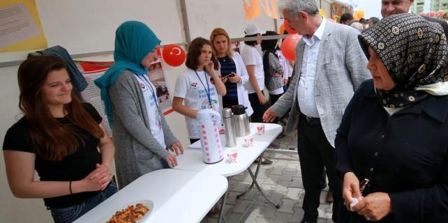 Yenişehir'de lezzet yarışı
