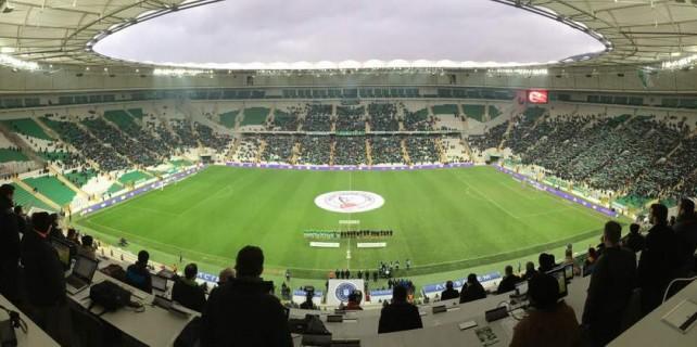 Bursaspor'a şok Timsah Arena uyarısı...
