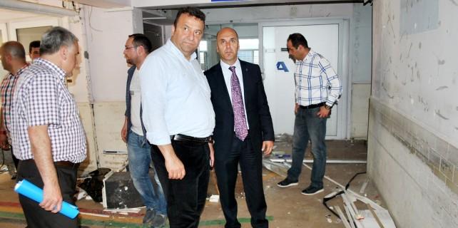 Eski Mudanya Devlet Hastanesi yeniden hizmete açılacak