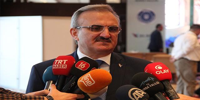 Vali Münir Karaloğlu Bursa'ya veda etti