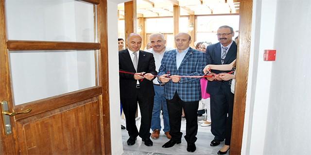 Mudanya'da filografi sergisi açıldı