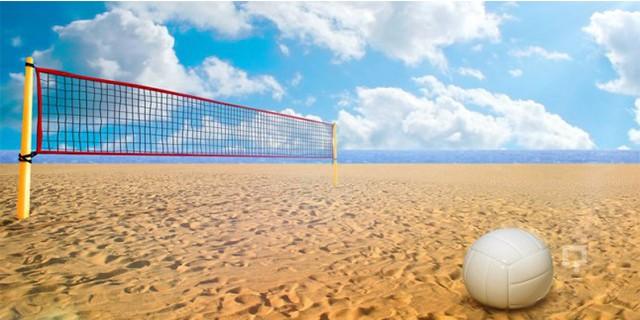 Plaj voleyboluna Bursa damgası