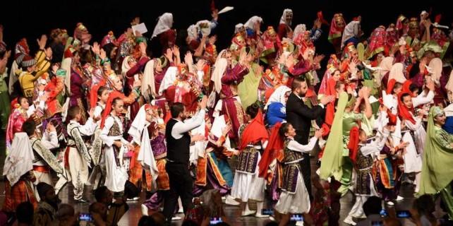 Anadolu'nun renklerinden görsel şov