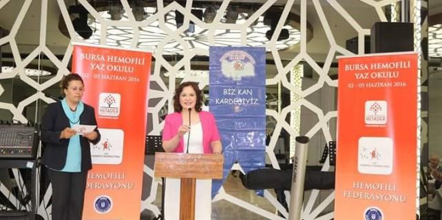 Hemofili hastaları Bursa'da hastalıklarını anlatacak
