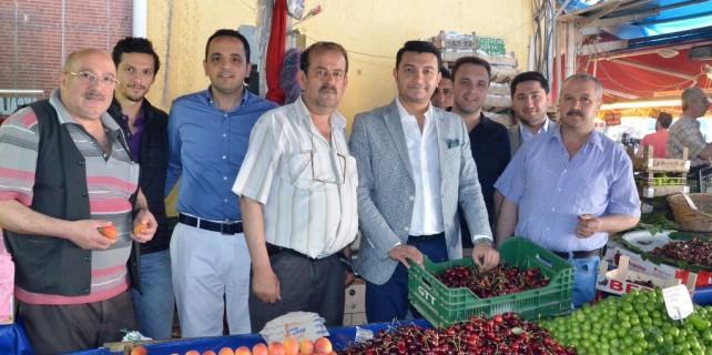 """Genç girişimcilerden """"Payitaht"""" desteği"""