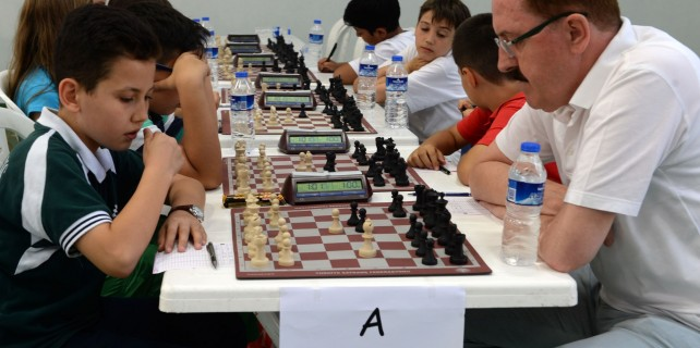 Osmangazi'de satranç heyecanı sona erdi