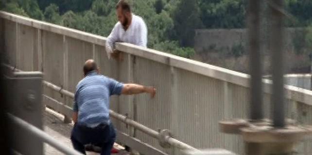 FSM Köprüsü'nde korku dolu anlar