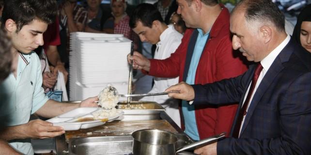 Orhangazi'de iftar coşkusu