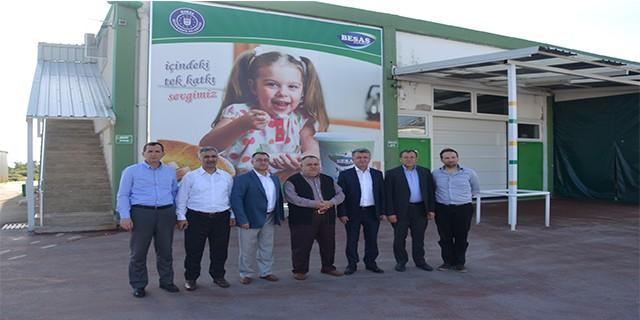 Halk ekmek yöneticileri BESAŞ'ta