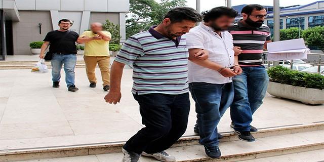 Vurguncular tutuklandı