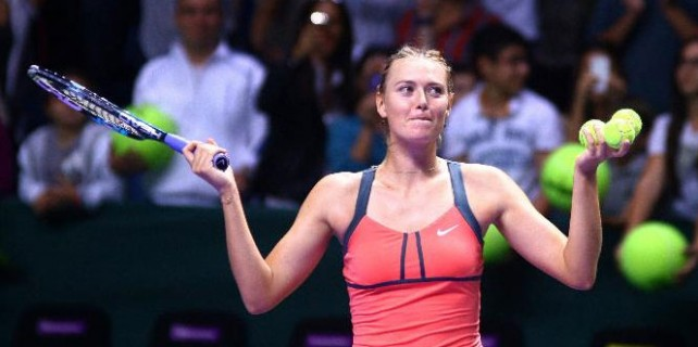 Rus tenisçi Sharapova'ya şok