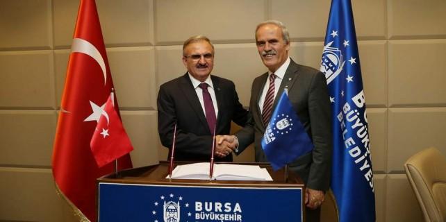 Umarım sizi farklı görevle Bursa'da yeniden görürüz