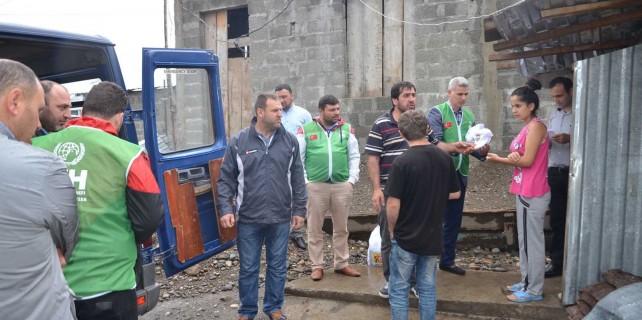 Gemlik'ten Gürcistan'daki yetimlere yardım eli