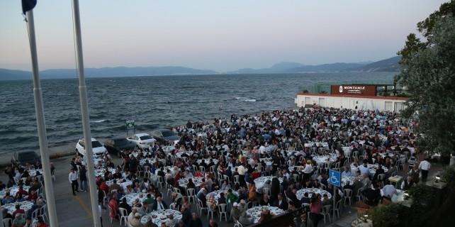 Büyükşehir Mudanya'ya değer katıyor